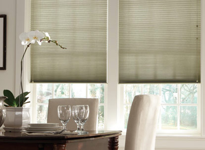 graber crystal pleat 3/8 inch double cell light filtering cellular shades