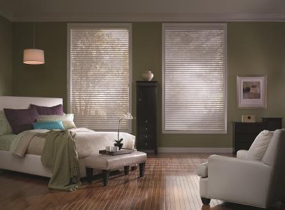 timber 2 inch light filtering sheer horizontal shades