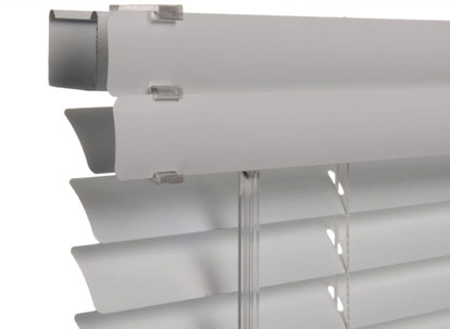 Nulite Prestige mini blinds headrail