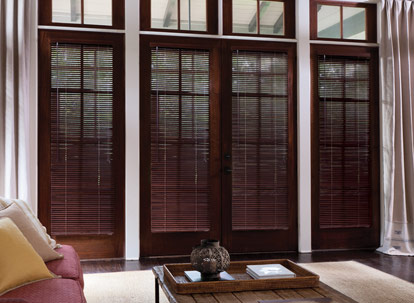 1 inch levolor premium real wood blinds thumbnail
