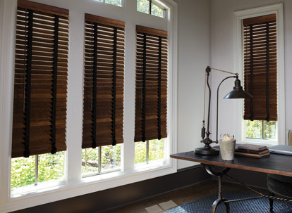 2 Levolor Premium Real Wood Blinds