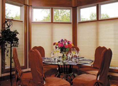 timber 9/16 inch single cell soft impressions light filtering cellular shades