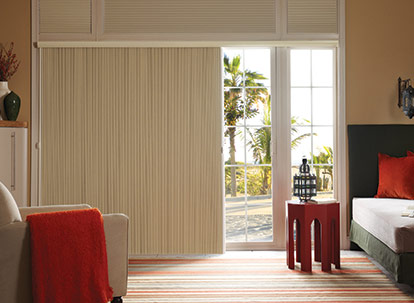 timber 3/4 inch blackout vertical cellular shades