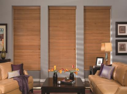 2 1/2 inch timber veneto natural wood blinds