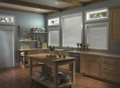 2 1/2 inch timber ultravue faux wood blinds