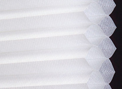 double cell cellular shade fabric profile
