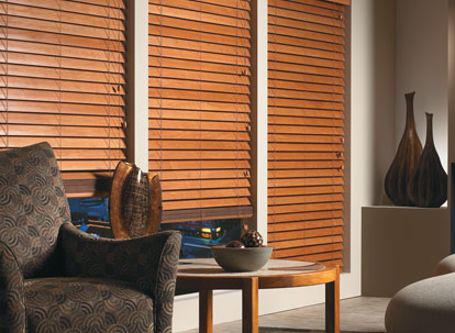 2 3/8 inch graber traditions real wood blinds