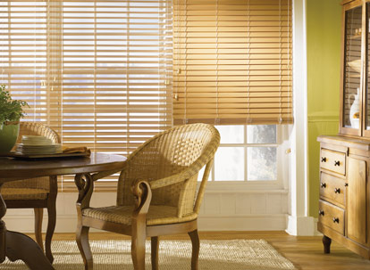 2 inch graber lake forest/premium faux wood blinds thumbnail