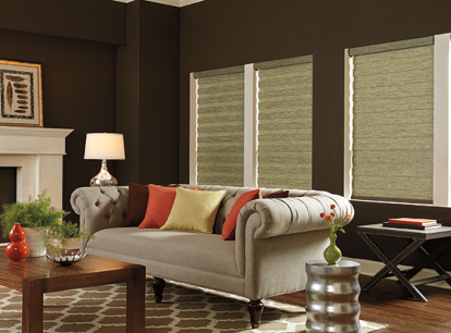 graber layered room darkening horizontal shade