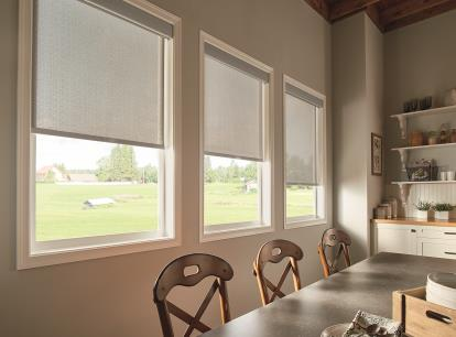 graber lightweaves solar shades - blocks 82 percent of light