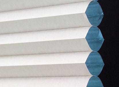 single cell room darkening cellular shade profile