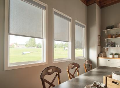 graber lightweaves solar shades - blocks 94 percent of light