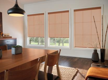 graber lightweaves solar shades - blocks 93 percent of light