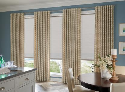 graber lightweaves solar shades - blocks 92 percent of light