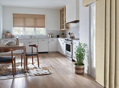 graber tradewinds natural shade - standard roman style