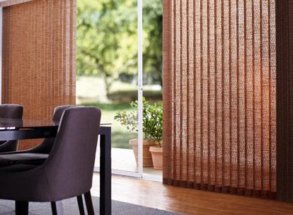 3 1 2 Inch Levolor Free Hanging Fabric Vertical Blinds
