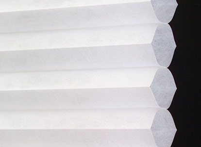 single cell cellular shade fabric profile