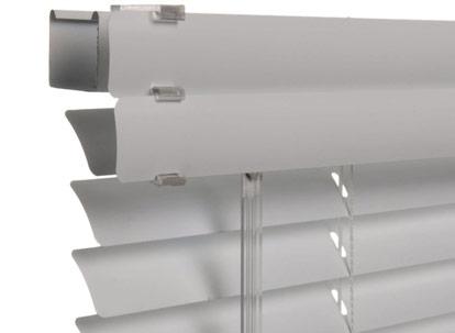 Levolor aluminum blinds standard headrail