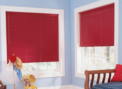 graber classics 1 inch aluminum mini blinds 6-gauge
