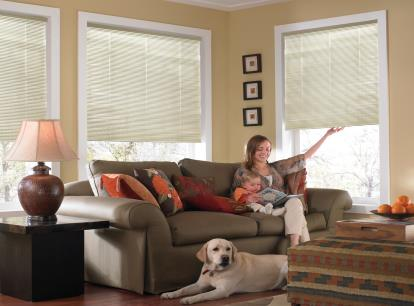 phase ii 1 inch cordless one touch aluminum 7 gauge mini blind