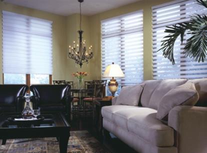nulite premium twinlight layered light filtering horizontal sheer shade