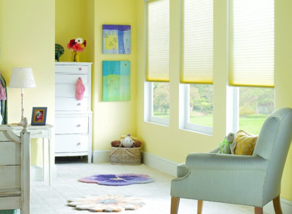 nulite premium 3/4 inch single cell light filtering cellular shades