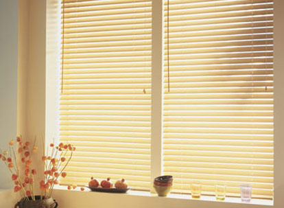 2 1/2 inch nulite prestige faux wood blinds thumbnail