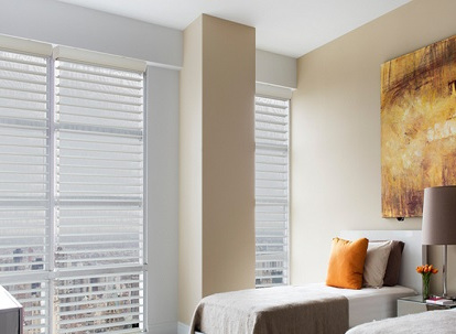 phase ii super value 2 3/4 inch light filtering sheer horizontal shades