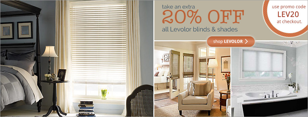 Levolor Blinds 20% Off